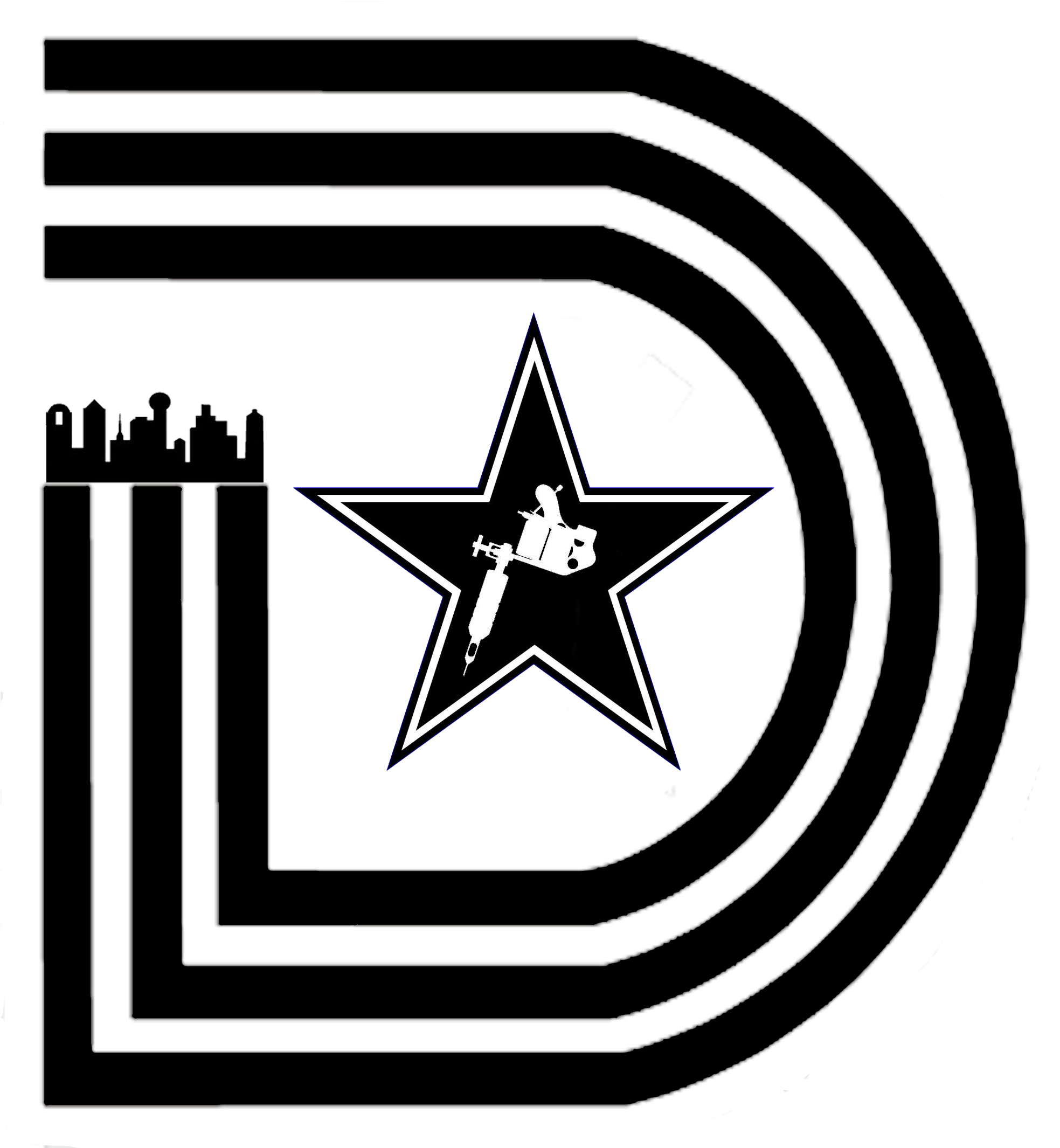 Triple D Dallas Logo Clipart.