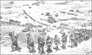 US 2nd Infantry Division World War Two.