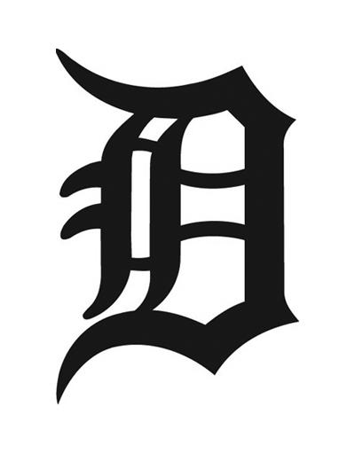 Detroit d clipart.