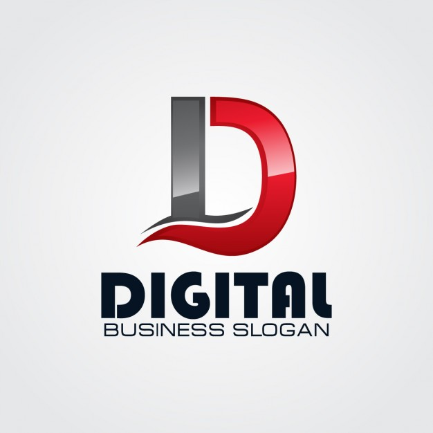Professional letter d logo Vector.
