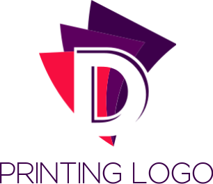 Vibrant Printing & Publishing Logos: Publication, Printer Logo Maker.