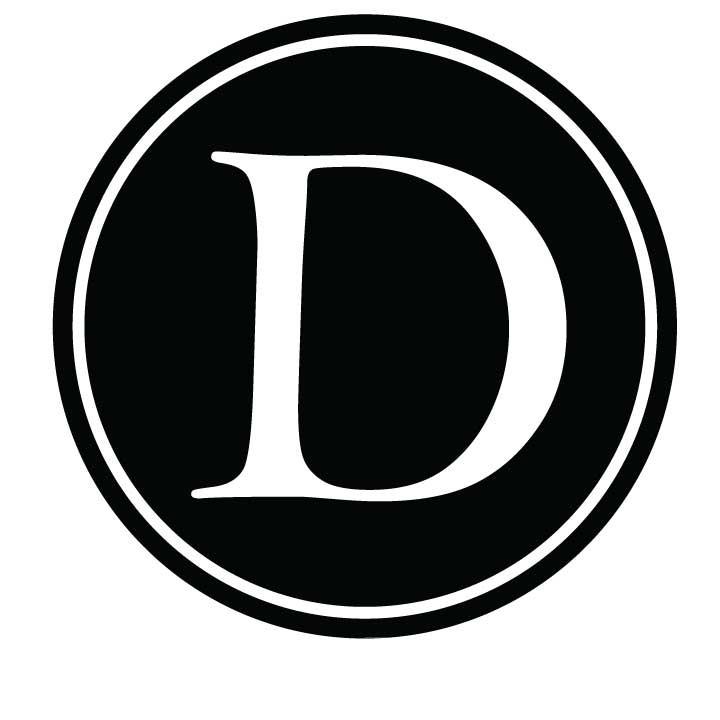 D Monogram Clipart.
