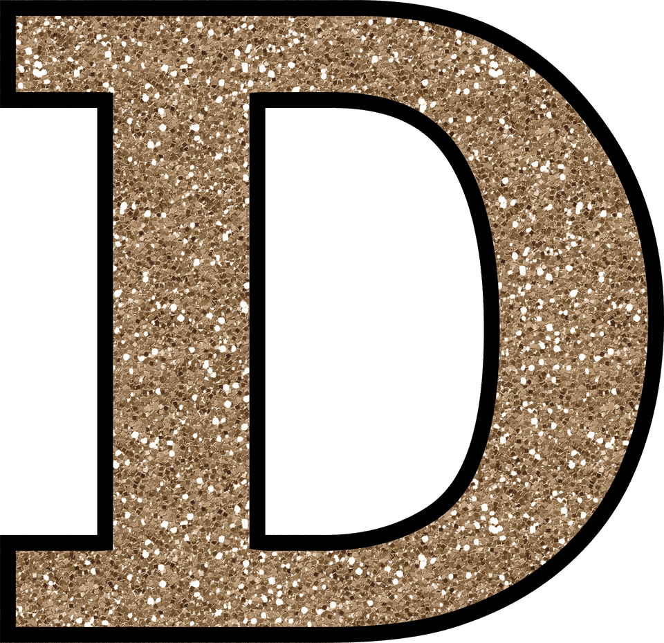 Letter D PNG Free Download.