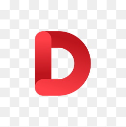 The Red Letter D, Gules, Letter, Letter #37893.