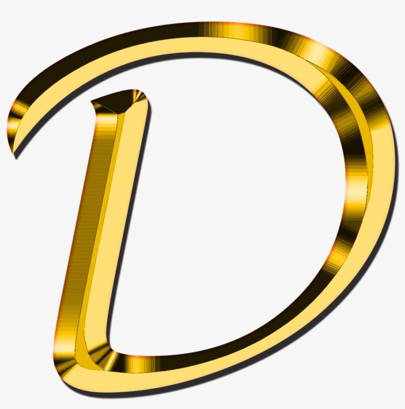 Capital Letter D.