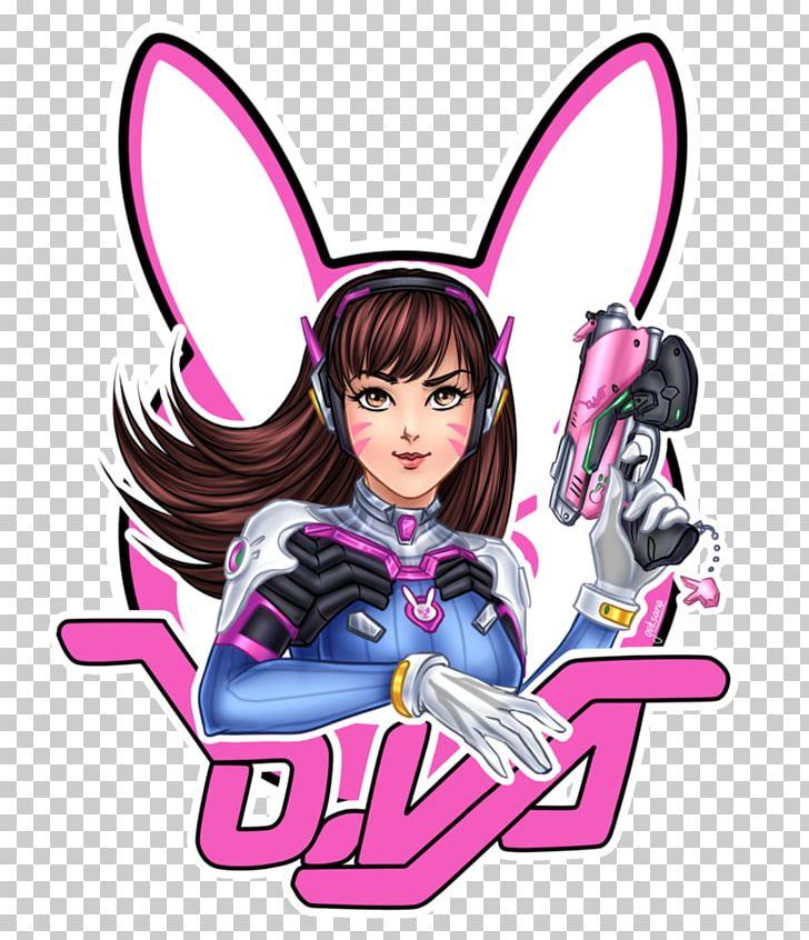 Overwatch D.Va Fan Art Chibi PNG, Clipart, Anime, Art, Character.