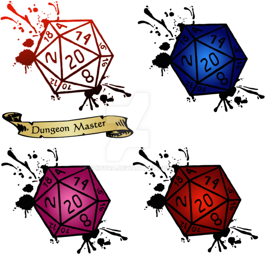 D20 Clipart Transparent.