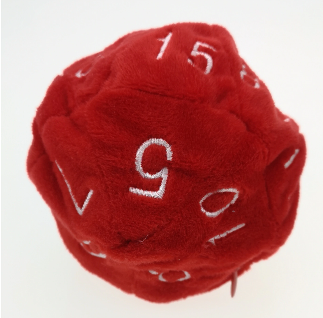 Plush D20 Dice Bag.
