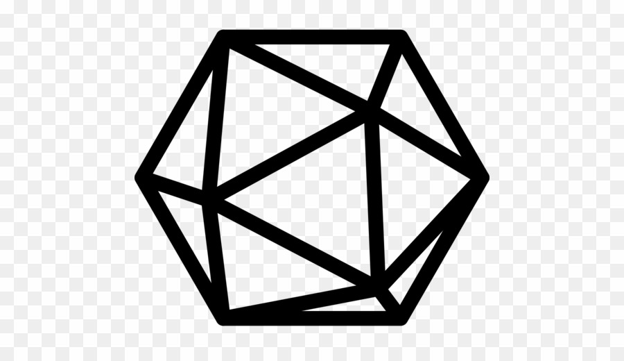 D20 Dice Icon PNG Dungeons & Dragons D20 System Clipart download.