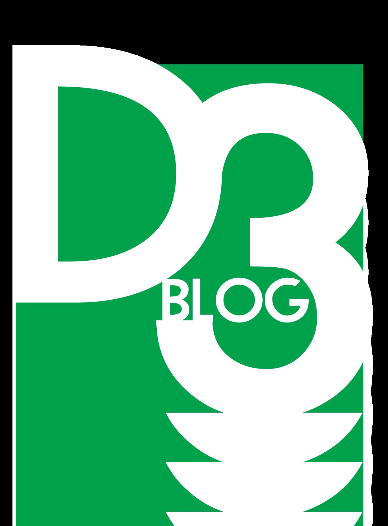 D3 logo.