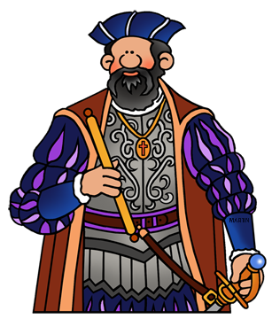 Free Vasco da Gama Clip Art by Phillip Martin.