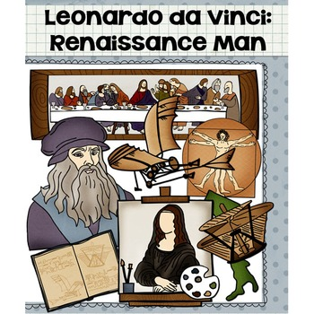 Leonardo da Vinci Clip Art.