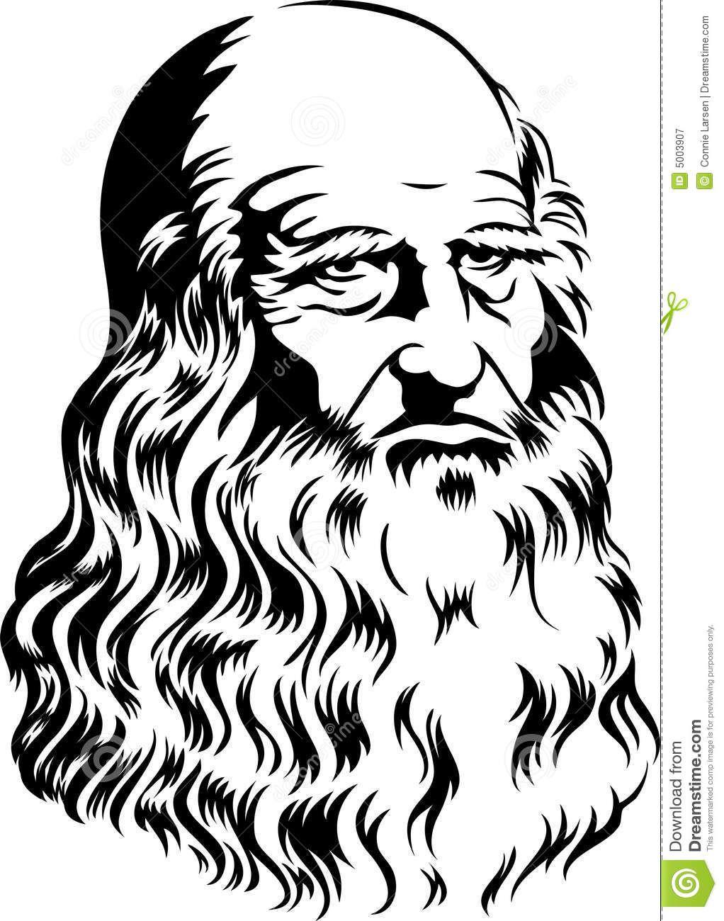 Leonardo Da Vinci/eps.
