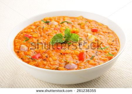 Dhal Curry Stock Photos, Royalty.