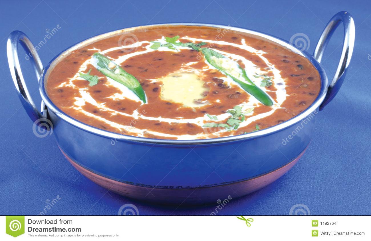Spicy Daal Makhni Stock Images.