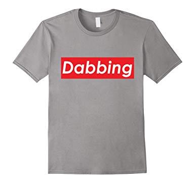 Dabbing Red Box White Logo T.