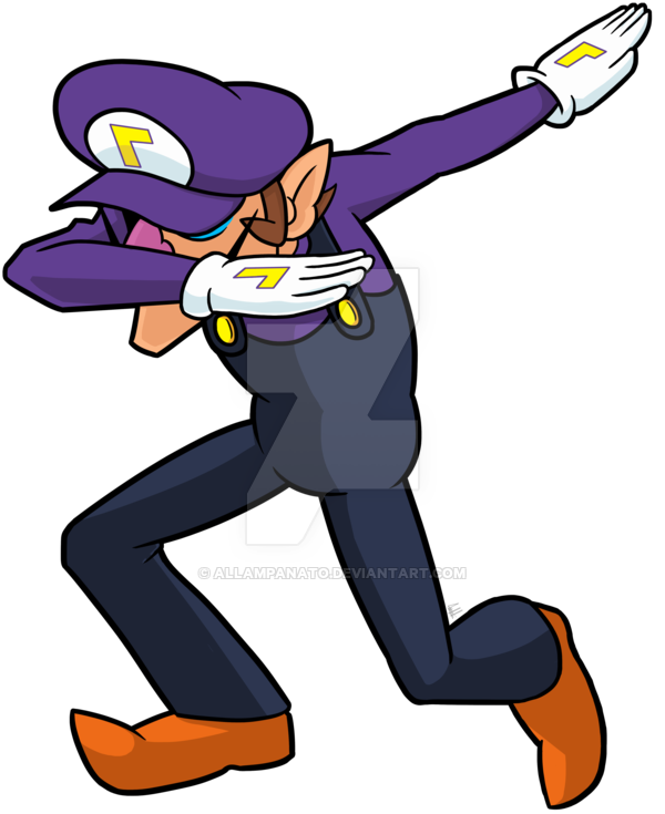 Free PNG Dab Dance Move.