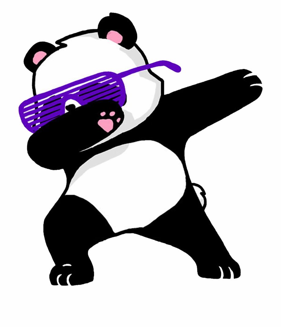 Panda Clipart Dabbing.
