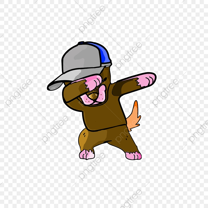 Dab It!, Dabbing, Dogge, God PNG Transparent Clipart Image and PSD.