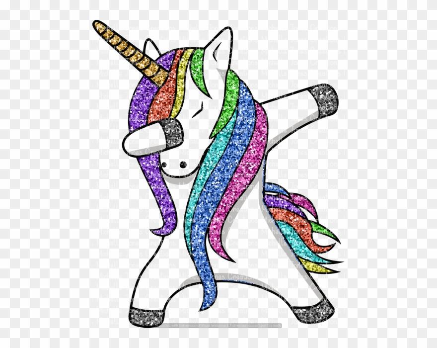 Dabbing Unicorn Clipart (#2123464).