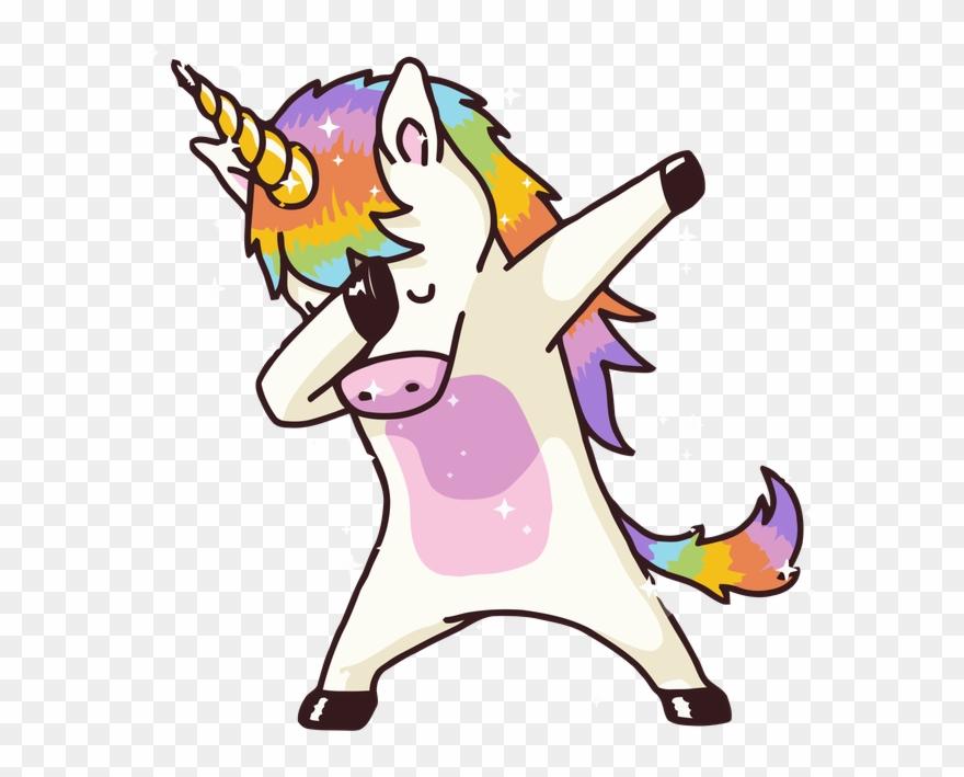 Dabbing Unicorn Shirt Dab Hip Hop Funny Magic Shower.