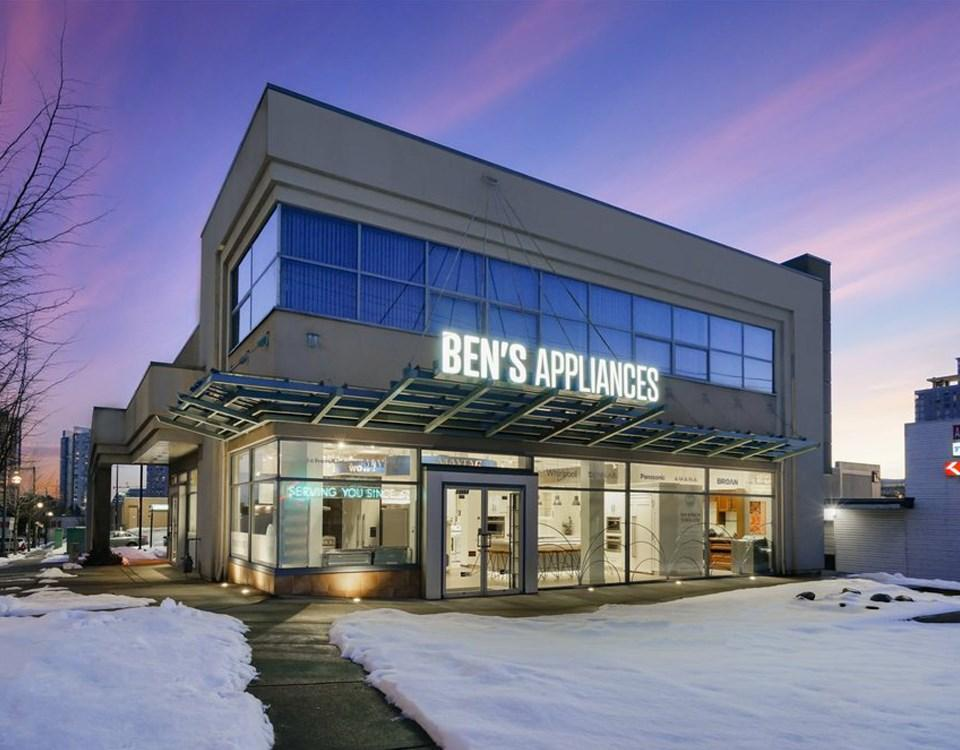 Ben\'s Appliances, Surrey. Great Prices, Great Customer Service.