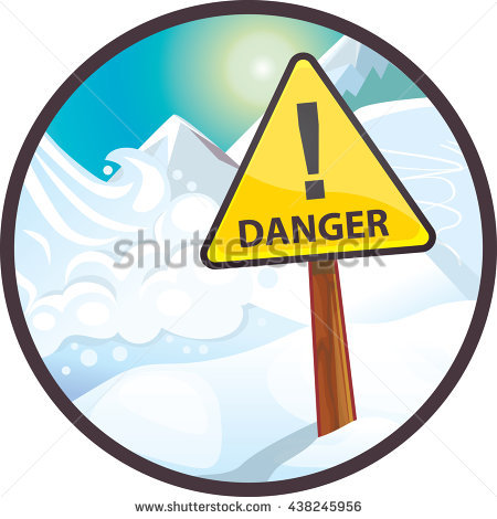"""avalanche Warning Sign"" Stock Photos, Royalty."
