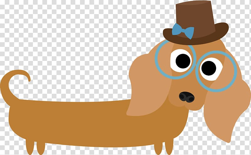 Dachshund Puppy Hot dog , puppy transparent background PNG clipart.