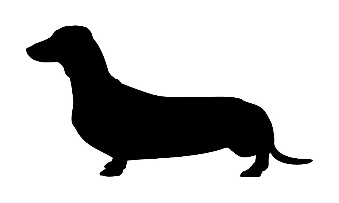 Free Dachshund Silhouette Clip Art, Download Free Clip Art.