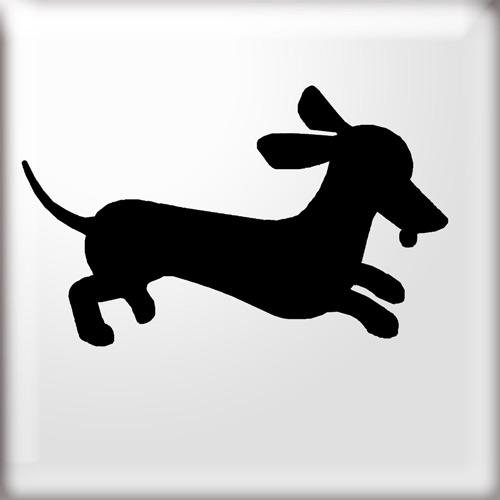 dachshund clipart silhouette clipground