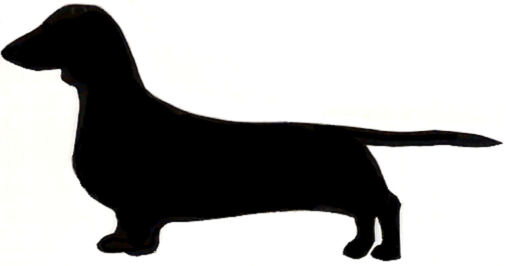 Free Dachshund Dog Silhouette, Download Free Clip Art, Free.