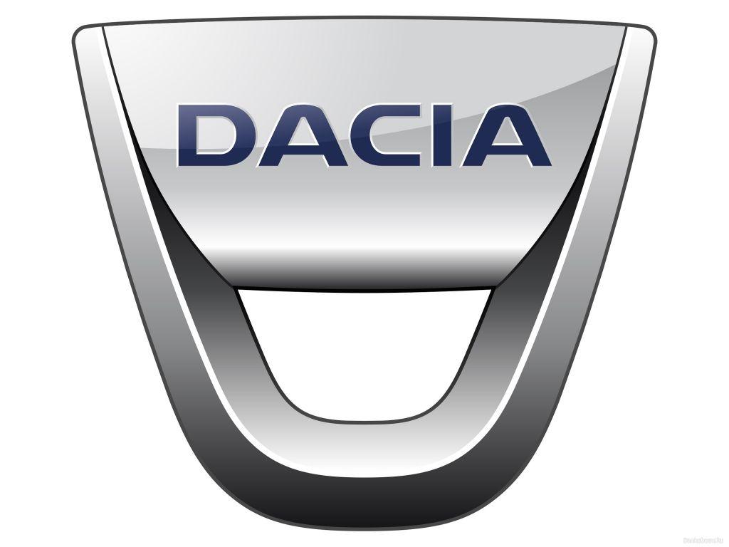 Dacia car logo.