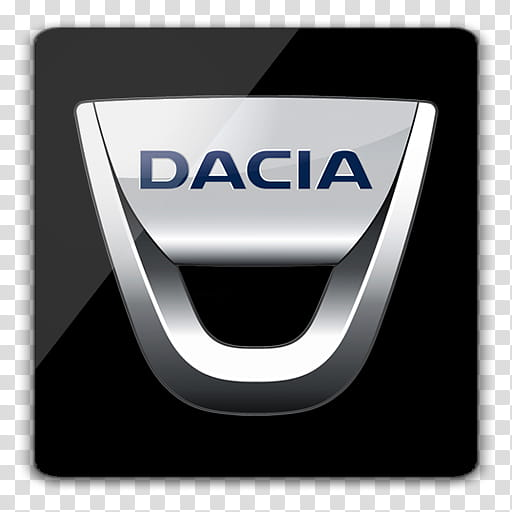 Car Logos with Tamplate, Dacia icon transparent background.
