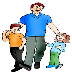 584 Fathers Day free clipart.