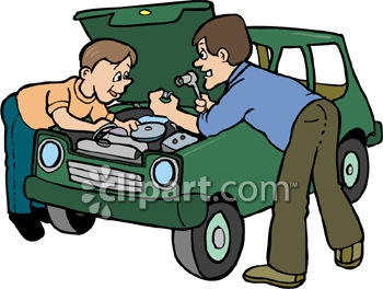 Working Father Clipart.