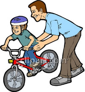 Father Going To Work Clipart.