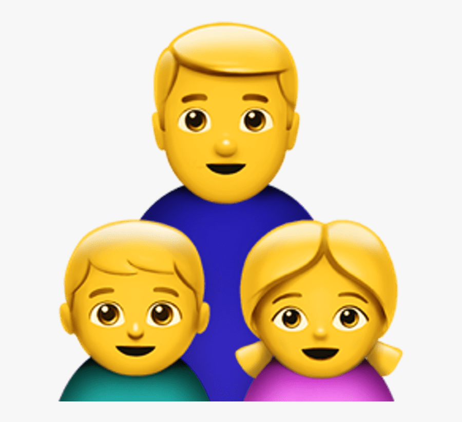 Single Parent Family Emoji.