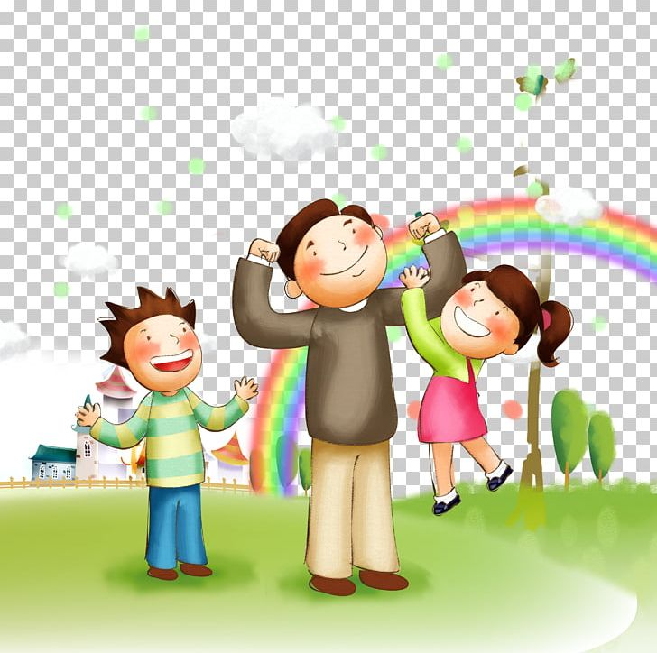 Family Happiness Father PNG, Clipart, Art, Cartoon, Child, Child.