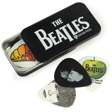 D\\\'ADDARIO LOGO BEATLES MEDIUM (Tin 15 picks).