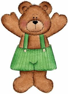 Daddy Bear Clipart.