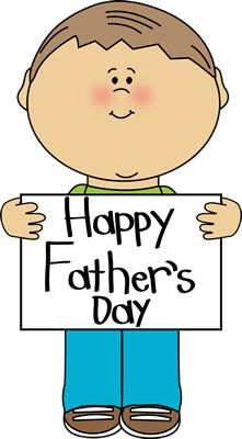 Cute dad clipart.