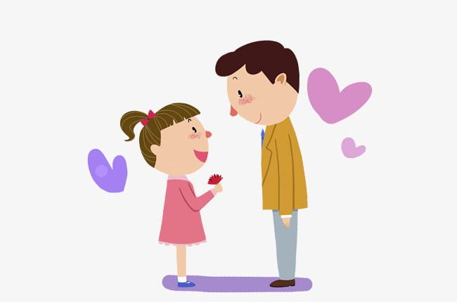 Daddy Daughter PNG, Clipart, Cartoon, Cartoon Characters.