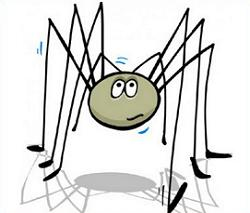 Free Daddy Longlegs Clipart.