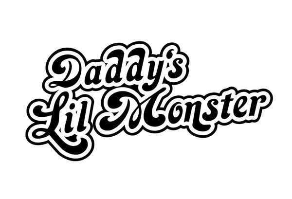 Daddy\'s Little Monster Onesie.