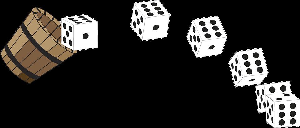 Cubilete Dados Cubos.