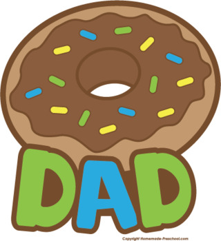 Donuts for Dad 2017 Cards.