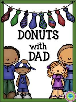 Donuts with Dad~ Activity Pack.