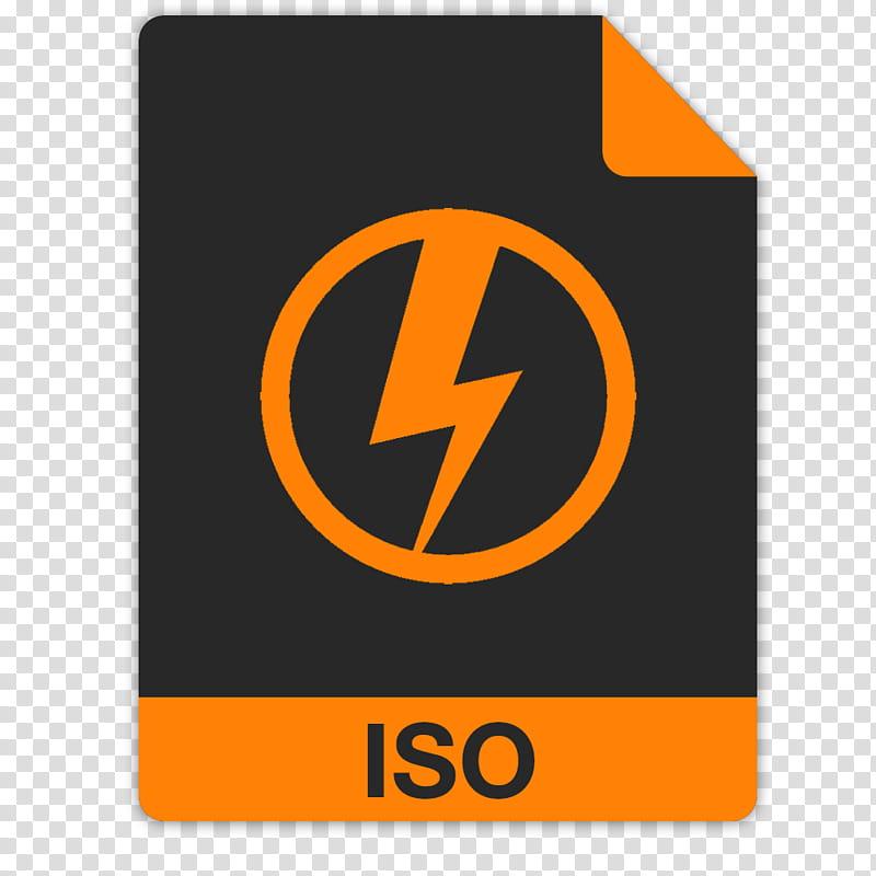FlatFiles DAEMON Tools iso, thunder logo transparent.