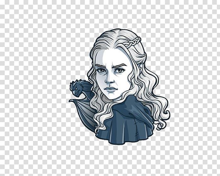 Game of Thrones Daenerys Targaryen Sticker Eddard Stark.