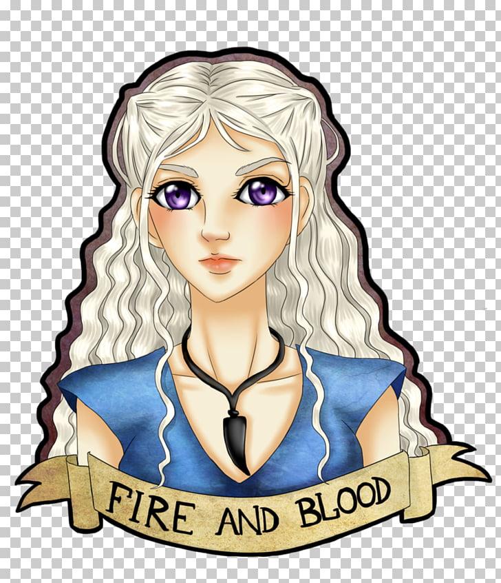 Brown hair Girl , Daenerys Targaryen PNG clipart.